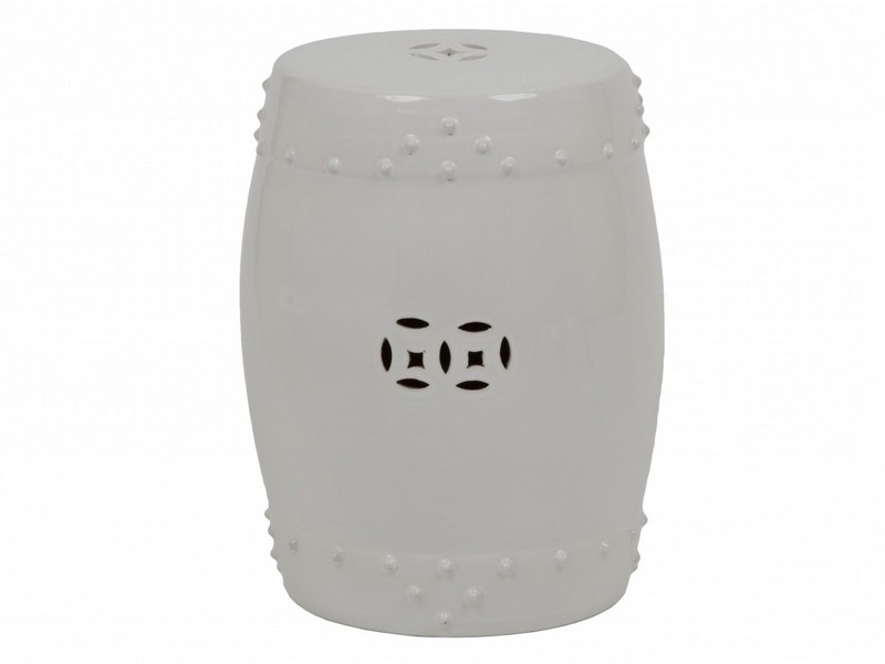Ceramic Drum Stool Bunnings