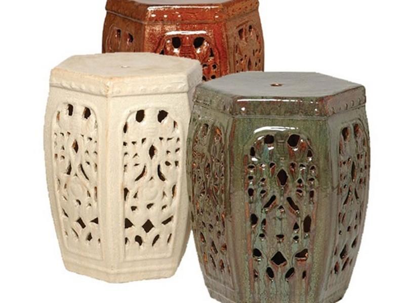 Ceramic Garden Seat Stool