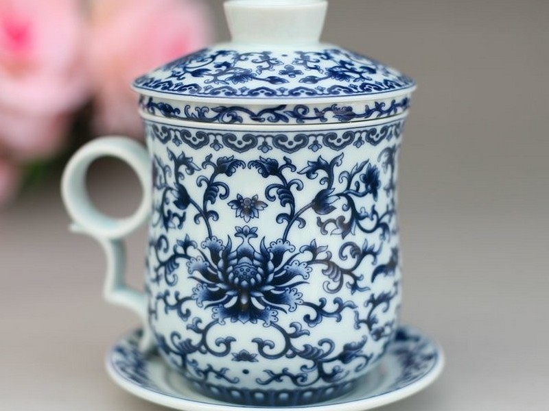 Ceramic Tea Cups With Lids