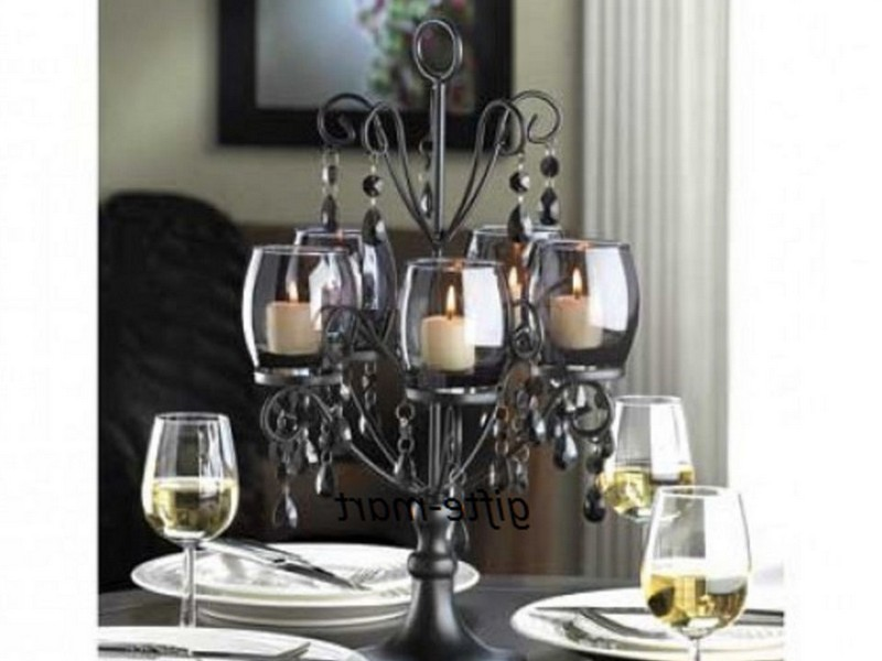 Chandelier Candle Holders Centerpieces