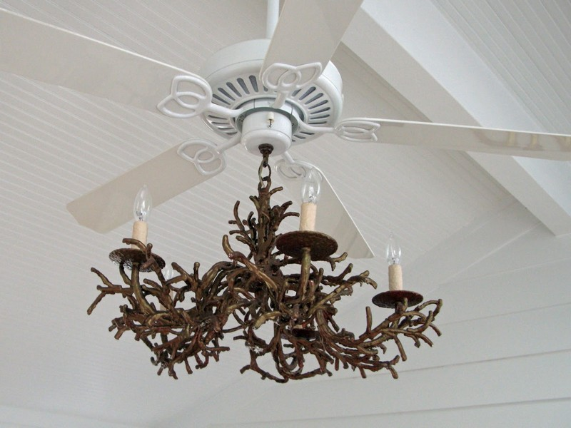 Chandelier With Fan