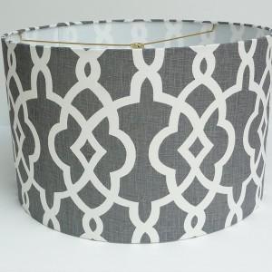 Charcoal Grey Lamp Shades