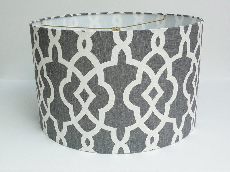 Charcoal Grey Lamp Shades