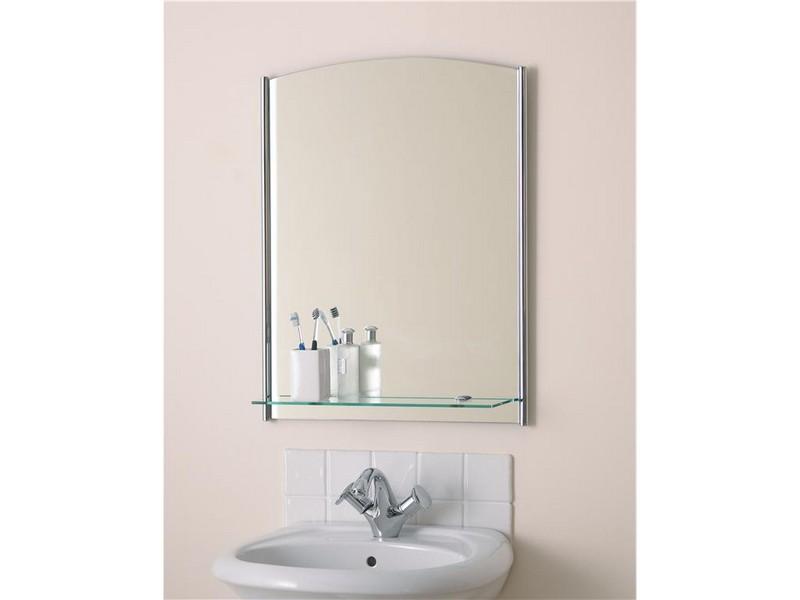 Cheap Bathroom Mirrors With Shelf