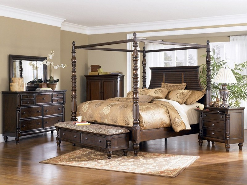 Cheap Canopy Bed King