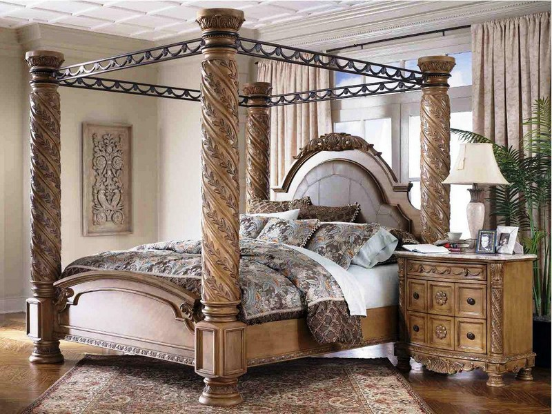 Cheap Canopy Bedroom Sets