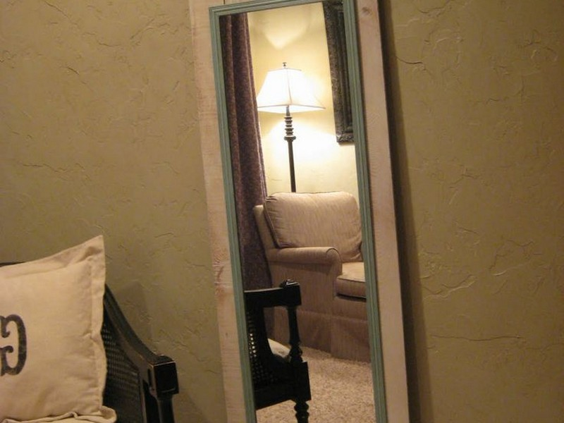 Cheap Full Length Mirror Diy