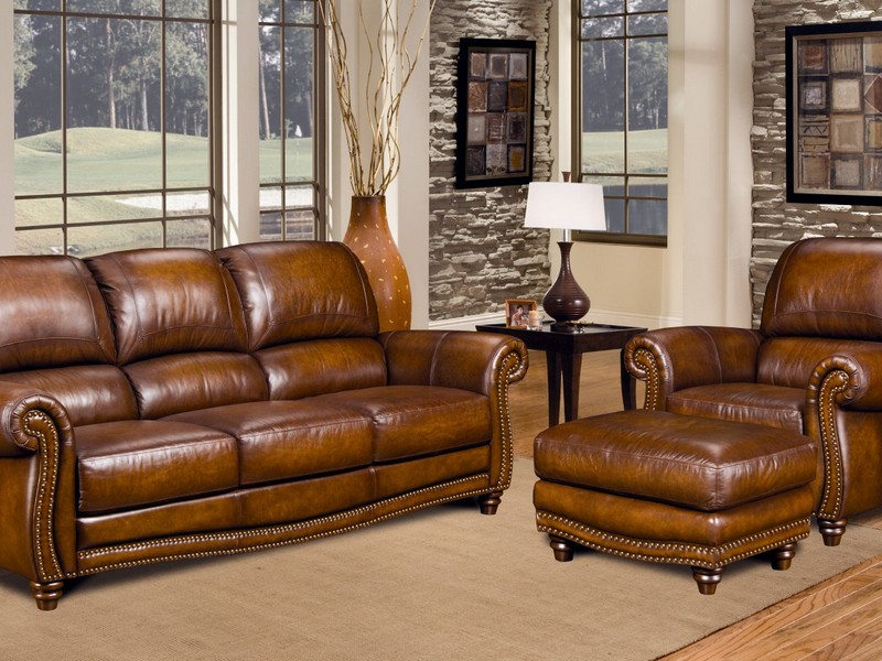 Cheap Leather Couch