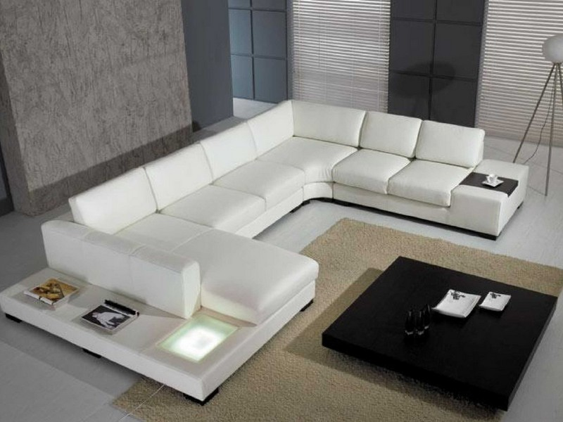 Cheap Leather Sectional Couches