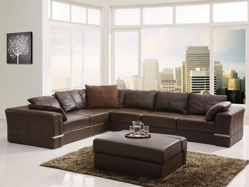 Cheap Leather Sectional Sleeper Sofa