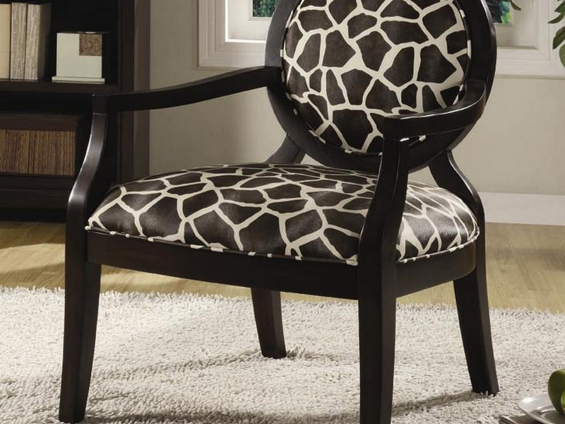 Cheetah Print Accent Chair