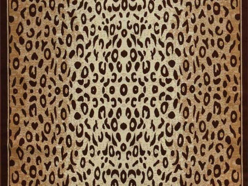 Cheetah Print Area Rug