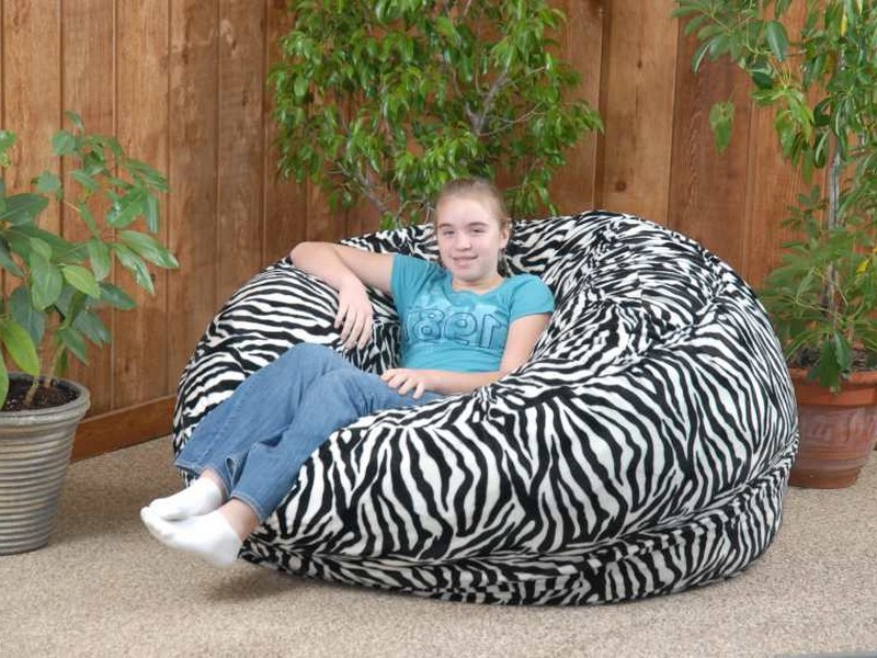 Cheetah Print Bean Bag Chairs