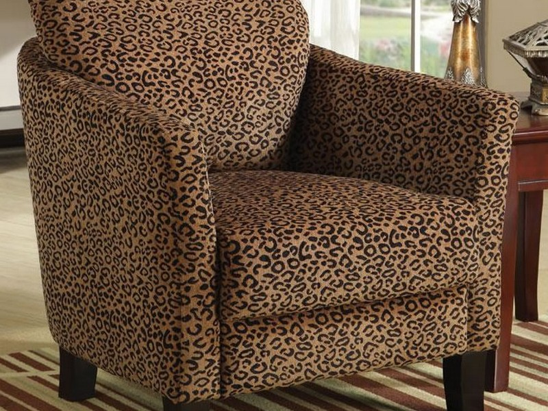 Cheetah Print Chair