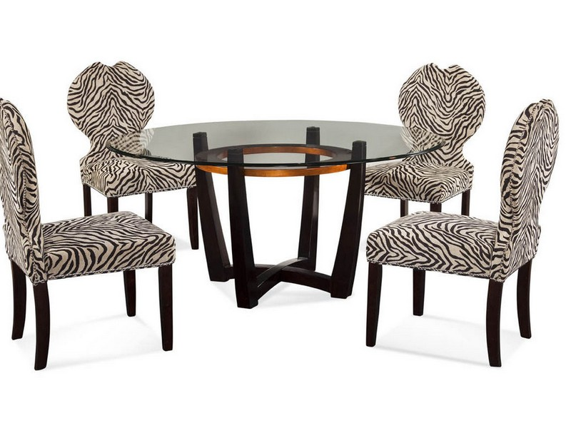 Cheetah Print Dining Chairs