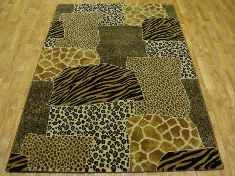 Cheetah Print Rug Runners