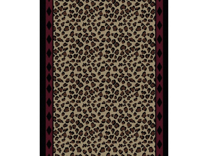Cheetah Print Rug