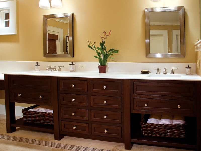 Cherry Bathroom Vanity Ideas