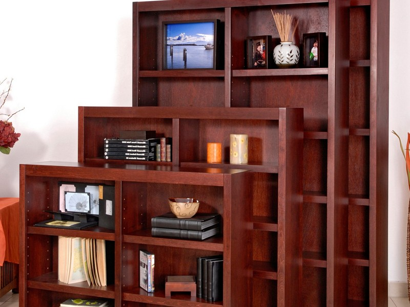Cherry Wood Bookshelf