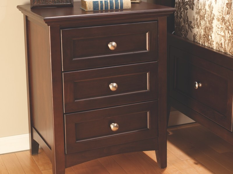 Cherry Wood Nightstand