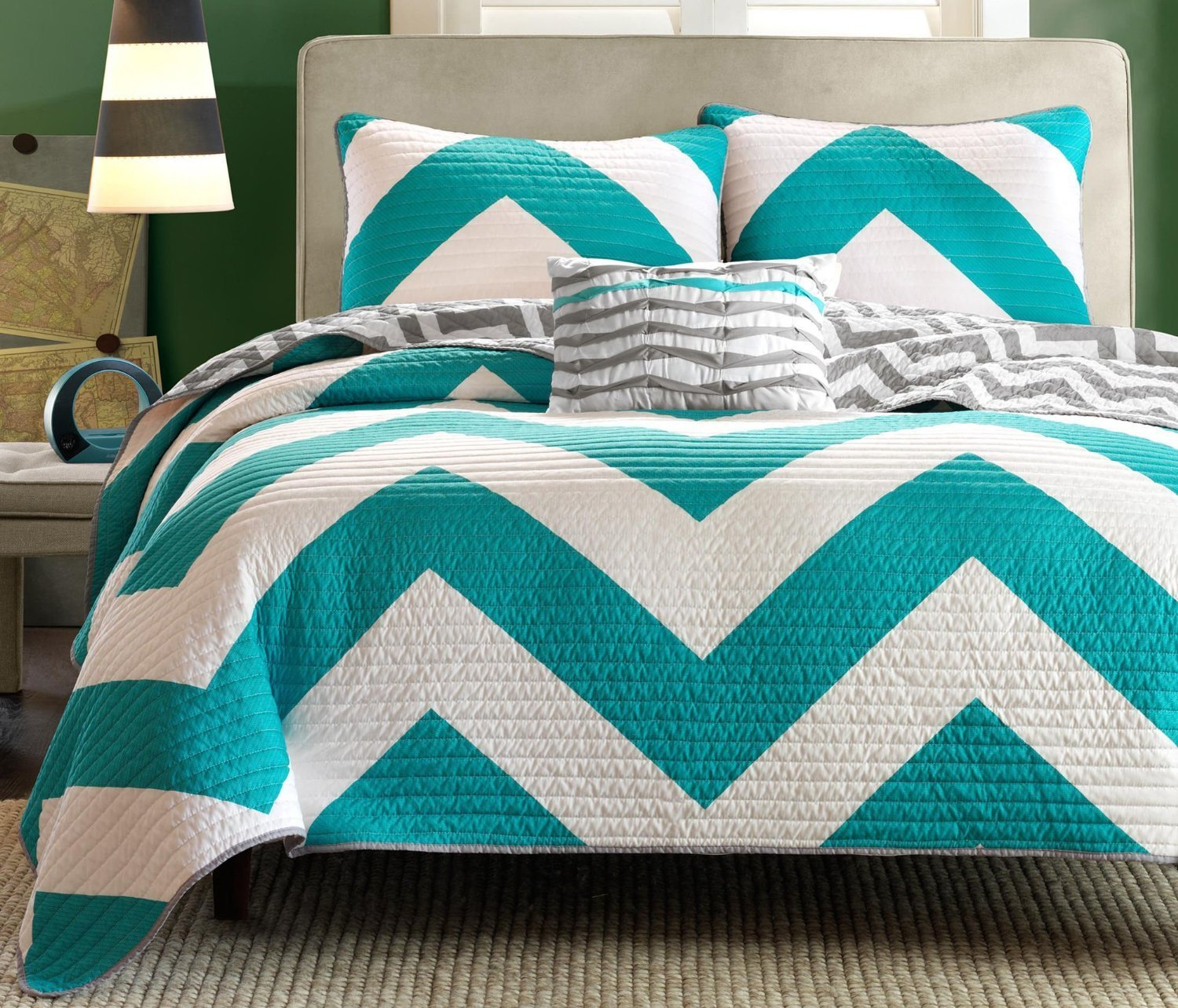 Chevron Bedding Queen Set