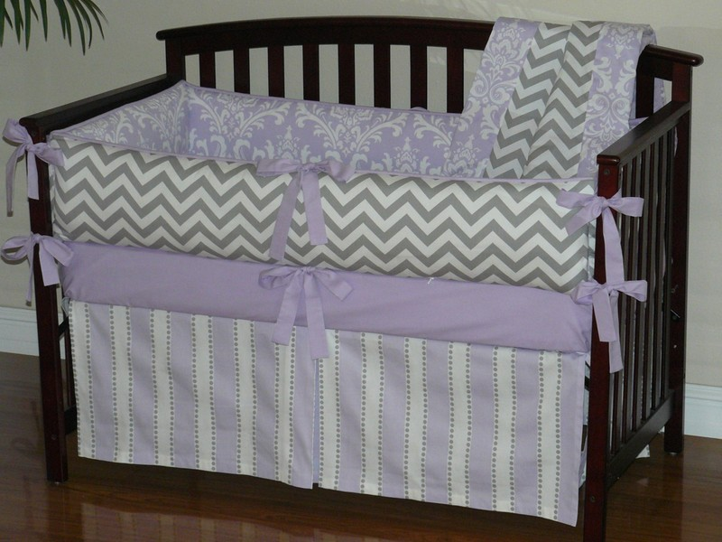Chevron Crib Bedding Sets