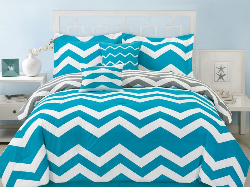 Chevron Queen Bedding Set