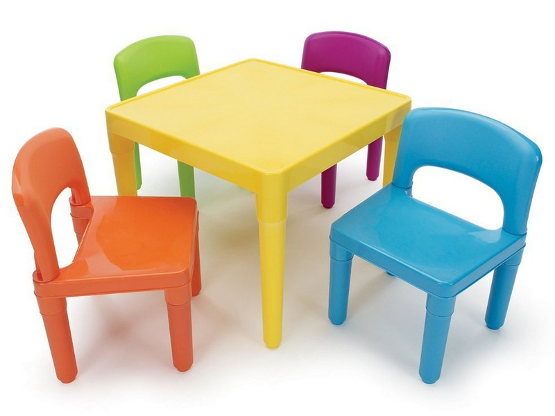 Childrens Table And Chairs With Arms