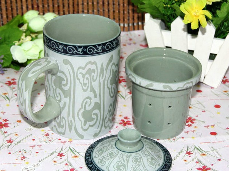 Chinese Tea Cups With Lids