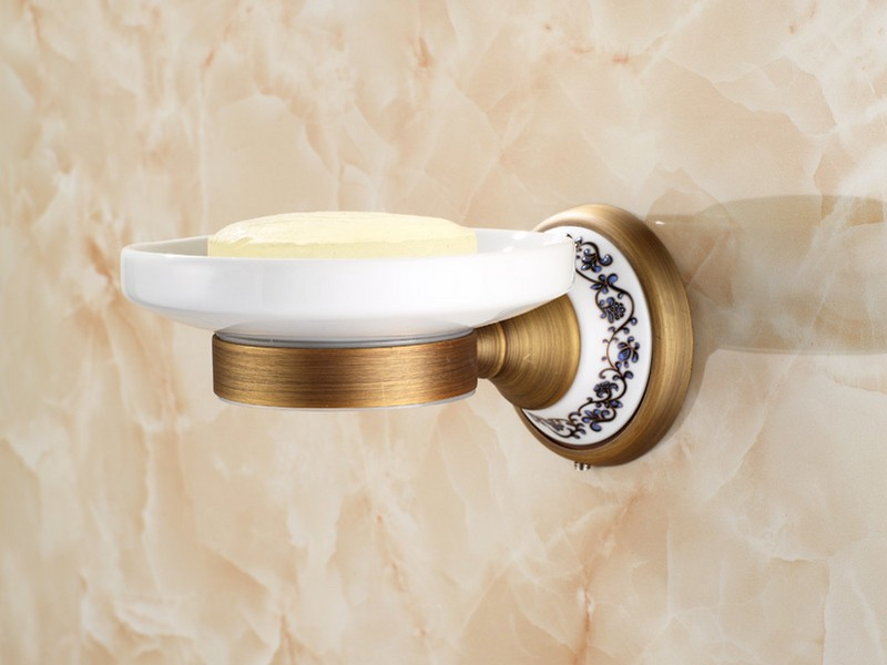 Chrome And Gold Bathroom Accessories