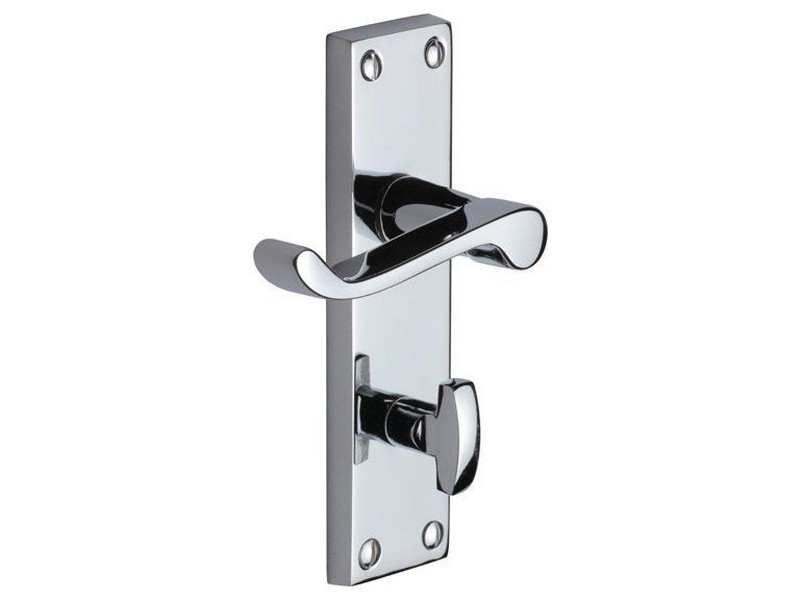 Chrome Bathroom Door Handles