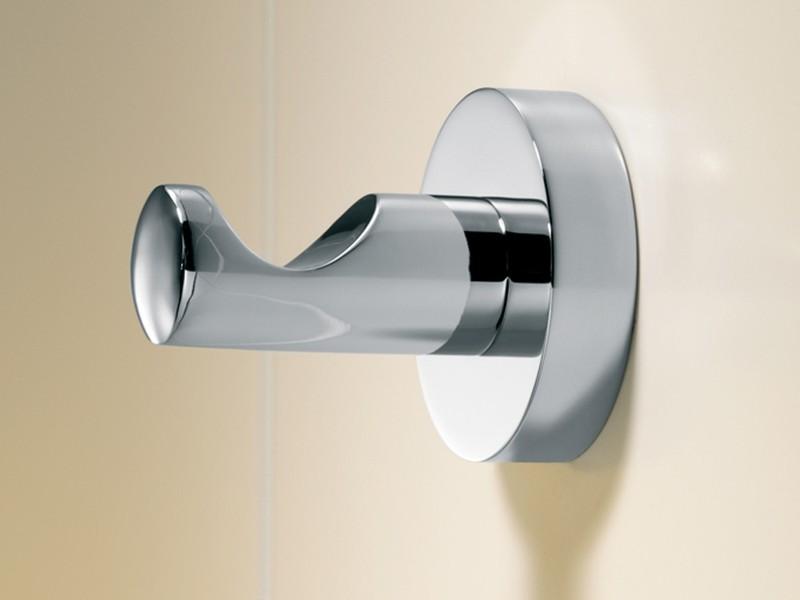 Chrome Bathroom Door Hooks