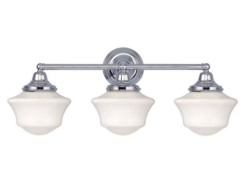 Chrome Bathroom Lighting Home Depot