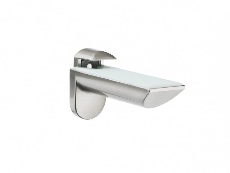 Chrome Bathroom Shelf Brackets