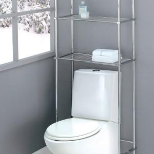 Chrome Etagere Bathroom