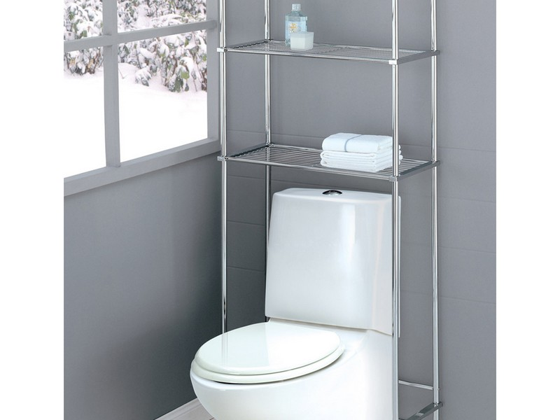 Chrome Etagere Bathroom
