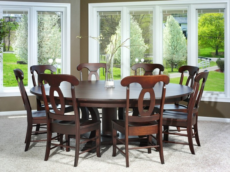 Circular Dining Table For 8