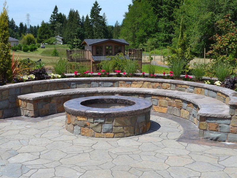Circular Fire Pit Designs