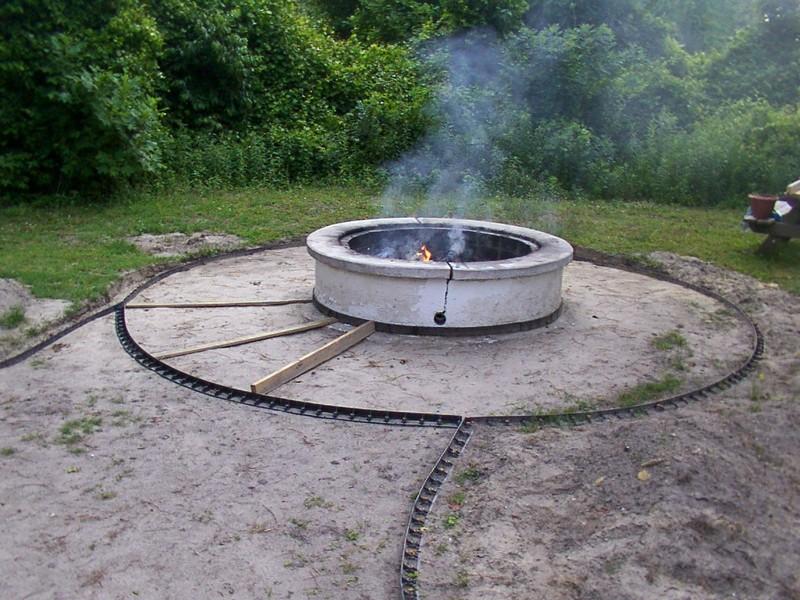 Circular Fire Pit Pavers