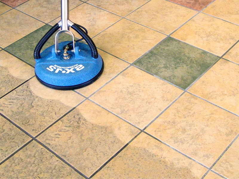 Cleaning Bathroom Grout With Vinegar