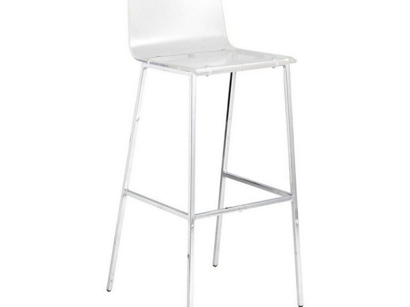Clear Counter Stools With Backs