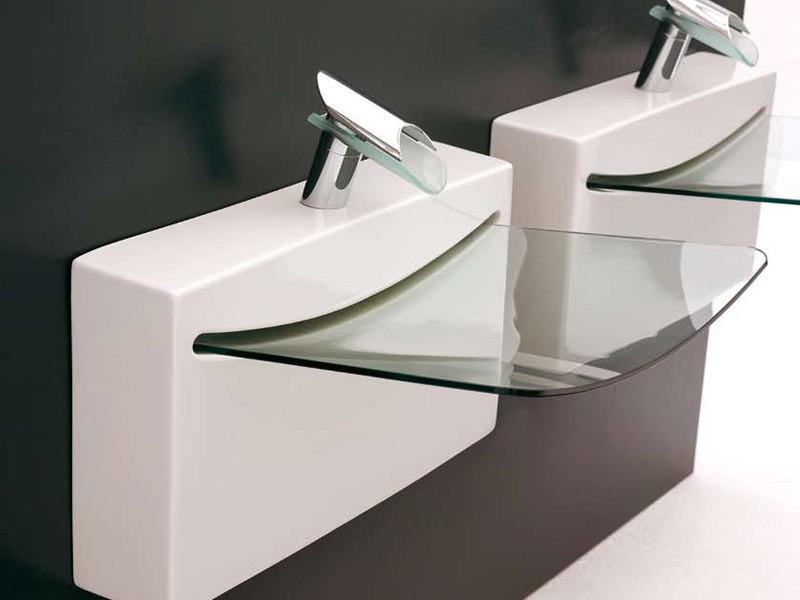 Clear Glass Bathroom Sinks