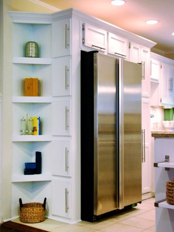 Closet Corner Shelves