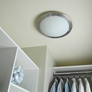 Closet Fluorescent Light Fixtures