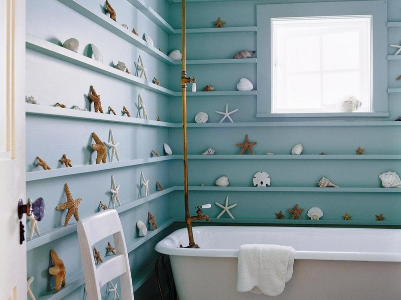 Coastal Bathroom Decor Ideas