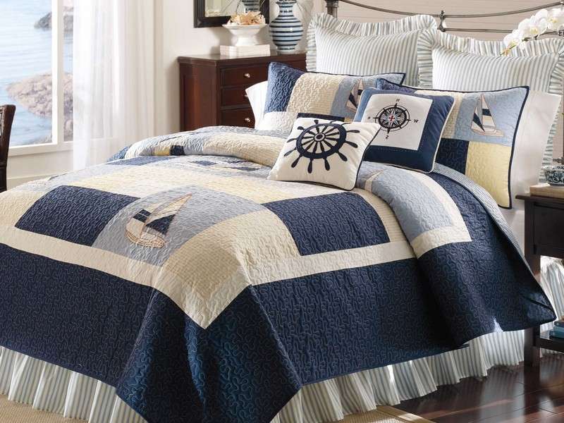 Coastal Bedding Quilts