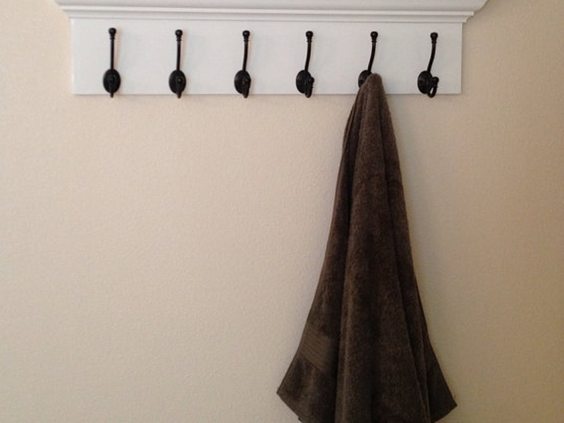 Coat Hooks With Shelf