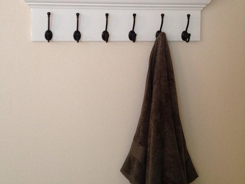 Coat Hooks With Shelf