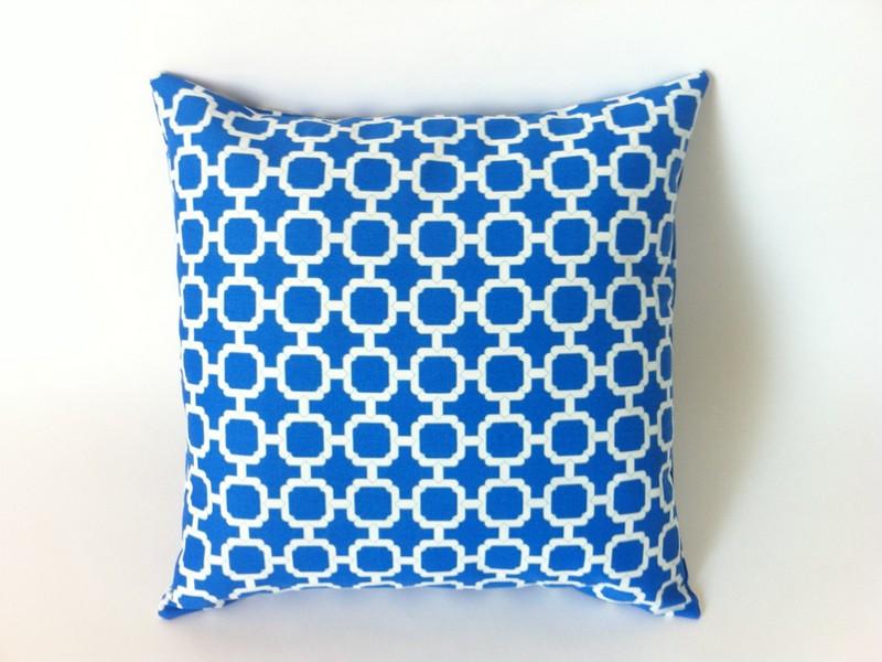 Cobalt Blue Throw Pillows
