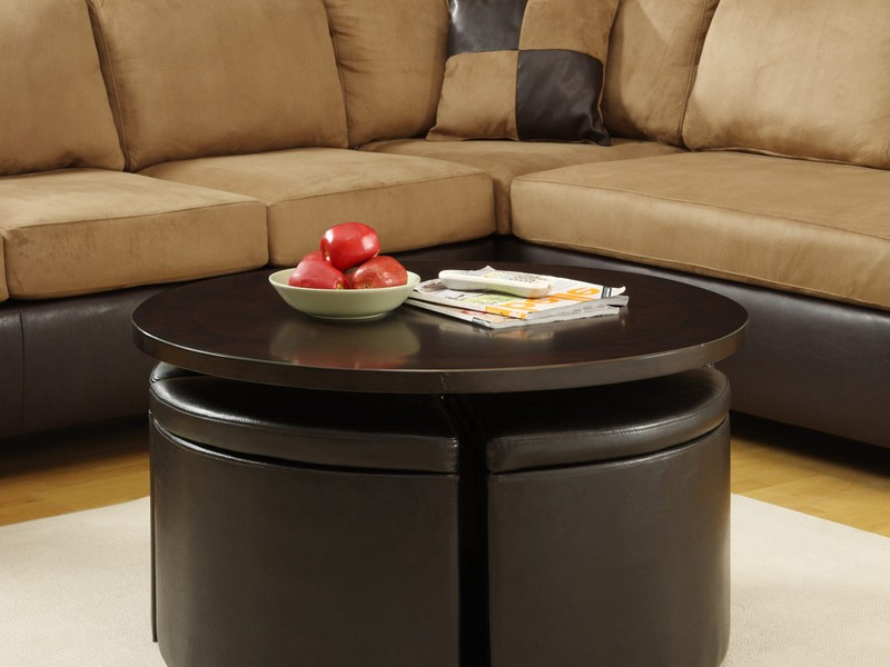 Coffee Table With Ottoman